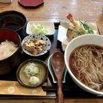 そば処 赤星 - 料理写真:そば定食 993円
