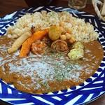 ドノパン -           玄米とスパイスカレーがとても美味しいです(^^)