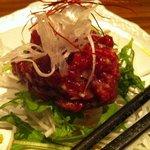 酒屋敷ごっそ - 桜肉の塩ユッケ