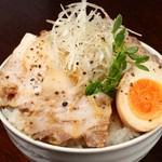 麺や 樂 - チャーシュー丼