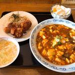 チャイナタウン - 料理写真:レディースセット(麻婆飯)