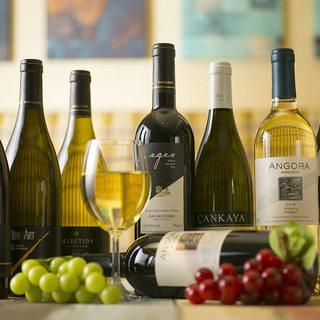 【ワインにこだわる】珍しいトルコワインに出合えるメッゼ