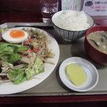 80663331 - 肉野菜定食(税込780円)
