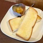 ジャム cafe 可鈴 - 今日はパンでいただきました