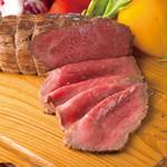 米沢牛黄木 - 料理写真:米沢牛ローストビーフ