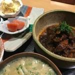 柚 - 牛すじランチ 西新ランチ