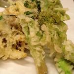 柚 - 春野菜天ぷら盛り