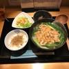 きつね庵 - 料理写真:きつねうどんセット(1000円)