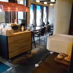 ラ・タルティーヌベーカリー  - フレンチレストラン側、ランチで利用出来るそうです