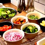 ガーデン キッチン - サラダバー