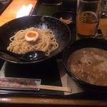 麺匠 竹虎 - 柚子魚介豚骨つけ麺とルービー