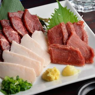 *【熊本】低カロリー&高タンパクで女性に人気!『馬刺し』♪