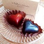 le bonbon et chocolate (ボンボン・ショコラ) - ギィシャルルマーニュ(赤)・ガティノワ(青)