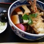 長寿庵 - 料理写真:長寿そば(税別1,110円)