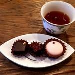 le bonbon et chocolate (ボンボン・ショコラ) - ピスターシュ・フランボワーズ・マカロン ローズ