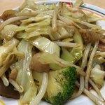 餃子の王将 - 野菜炒め(ハーフ)