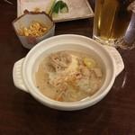 もつ焼き寺田屋 - 料理写真:煮込み鍋(380円)