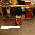 とんかつ がんこ - テーブルアイテム