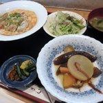 レストラン梢 - 料理写真:日替わり 700円 (2011.4)