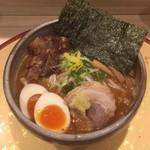 麺屋 音 別邸 - 特製 炙り濃厚味噌