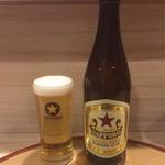 麺屋 音 別邸 - 瓶ビール