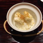 奈良 而今 - たちの天ぷら飯蒸し からすみがけ