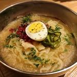 J−chan 冷麺 - 梅しそ冷麺