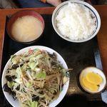 食堂 なすの屋 - 野菜炒め(670円)