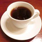 オー・グルマン - ランチコース 6270円 のコーヒー