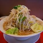 骨々亭 - 料理写真:ラーメン(特盛、もやし野菜増)