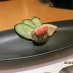 かにの華 - 前菜:蟹身と蟹味噌