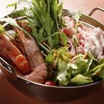 DINNING&BAR AKATSUKI - 特製ブイヤベース AKATSUKI鍋
