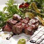 DINNING&BAR AKATSUKI - 国産牛イチボのグリル