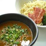 スープカレー plus one - 札幌カリー麺(plus one流スープカレーつけ麺)平日17時~数量限定品