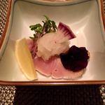kiwa - 鰆塩タタキ&みぞれ酢