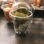 嵐山 りらっくま茶房 - リラックマのとろーり蜂蜜カステラ饅頭・抹茶