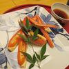 浅田 - 料理写真:中皿 金沢市場より 茹図合蟹 蟹味噌 千鳥酢