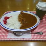 第7ベイサイド - 大盛ポークカレー&コーヒー