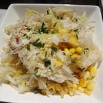 麺酒房 龍安 - 鶏節もやしサラダ。
