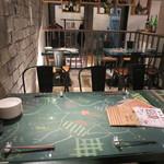 トリタベルカ - 内観写真:テーブル席(2018年2月)