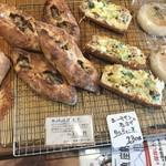 詩とパンと珈琲 モンクール - 鯖バゲットとシーチキンと長ネギのタルティーヌ