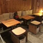 詩とパンと珈琲 モンクール - イートインコーナー