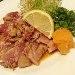 亜紗 - 地鶏のたたき  ¥630