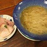 麺屋 Somie's - 煮干し醤油ラーメン:セパレート型