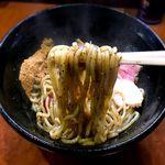麺屋ひなた - 油そば 麺 2018.2.1