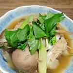 山形料理と地酒 まら - 芋煮   小鉢     ¥600