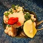 山形料理と地酒 まら - 真鱈白子ポン酢     ¥800