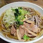 山形料理と地酒 まら - 河北町  冷たい肉そば     ¥850