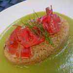 bistro cocotto 古淵 - 野菜ソースで食べるライスwithクーリ