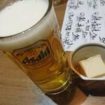 東京イカセンター - ビール